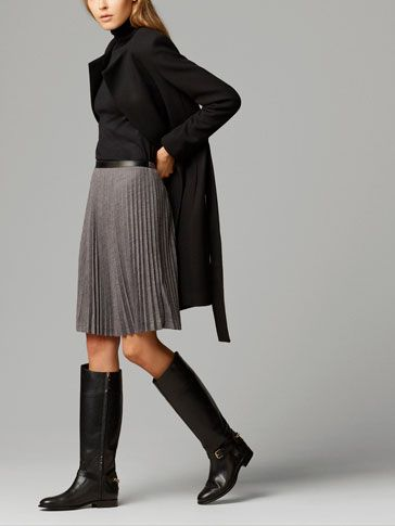 ACCORDION-PLEAT SKIRT - View all - Dresses & Skirts - WOMEN - United Kingdom