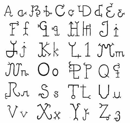 Alfabeto Sertanejo