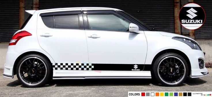 Details About Sticker Stripe Kit For Suzuki Swift Sport