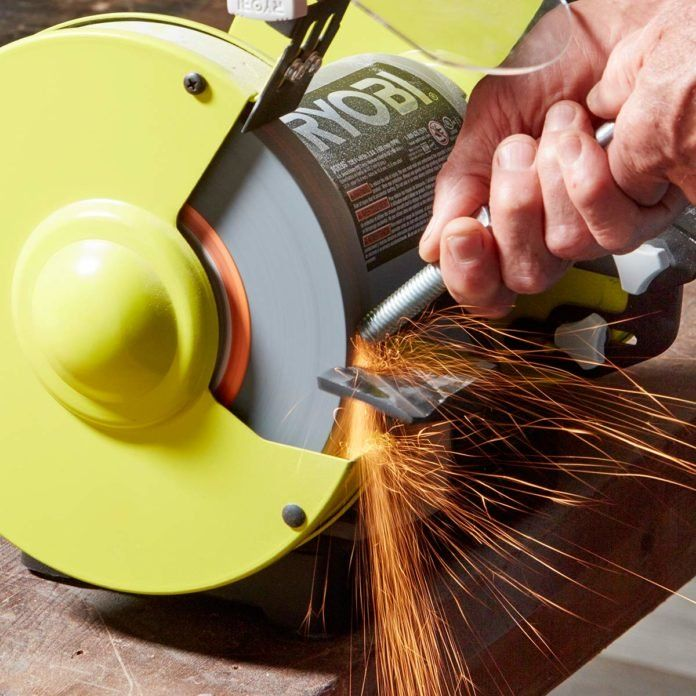 15 Things All Diyers Should Know About Bench Grinders Bench Grinder Sharpening Tools Bench Grinders