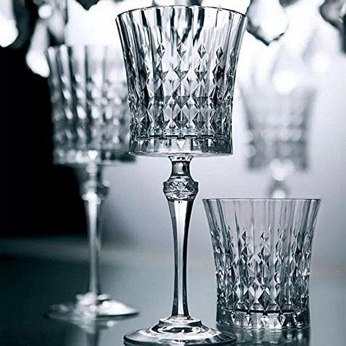 Cristal Darques Lady Diamond.Eclat Lady Diamond Kristallglas Whiskeyglaser Set 6 Glase