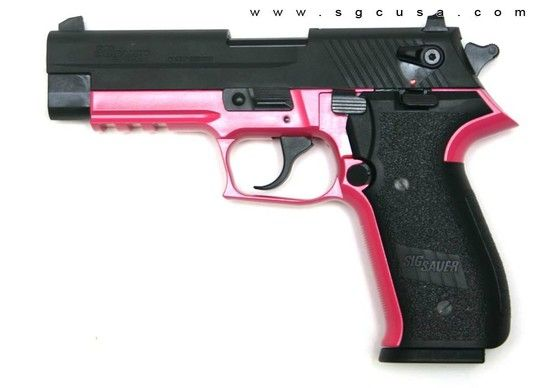 Pink gun by Mad Queen - ok so I don't consider myself a gun person but I'm against them at all so when I saw this my first thought is ITS PINK!!!!!! I WANT!!!!!!