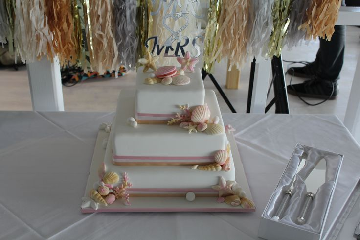 Justin and Jody's wedding cake.