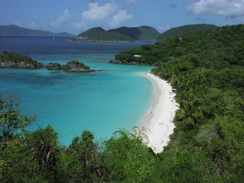 A Hidden Beach? :)  St. Thomas VI