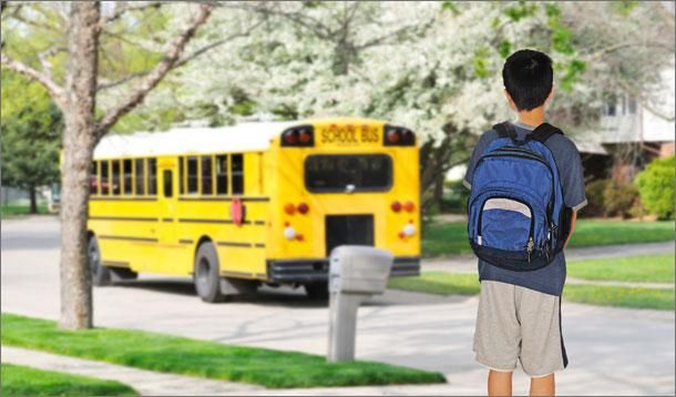 New School Year Transitions - 10 tips to help from KidsHelpPhone.ca counsellors #YMCBackToSchool