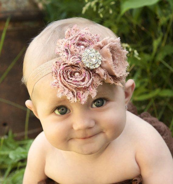 Hey, I found this really awesome Etsy listing at http://www.etsy.com/listing/156062970/vintage-baby-headbands-shabby-headband