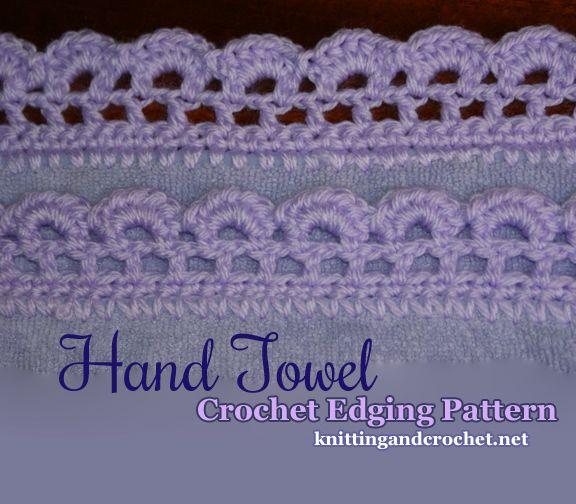 Mejores 18 imágenes de crochet borders en Pinterest | Encajes de ...