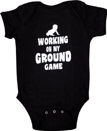 Amazon.com: TITLE MMA Baby Ground Game Onesie: Sports & Outdoors