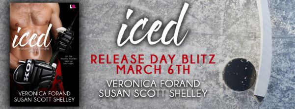Iced by Veronica Forand & Susan Scott Shelley Release Blitz Banner