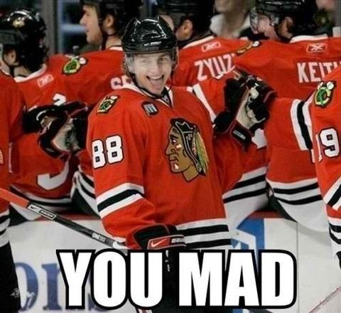 Blackhawks!! U mad we won!!! 2015 champs