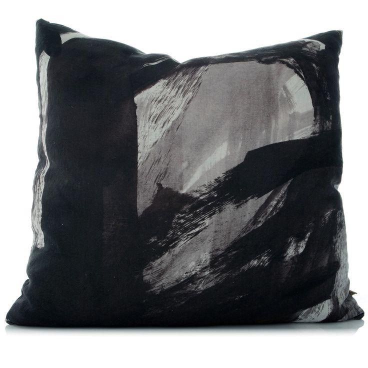 Emperor Large Linen Cushion