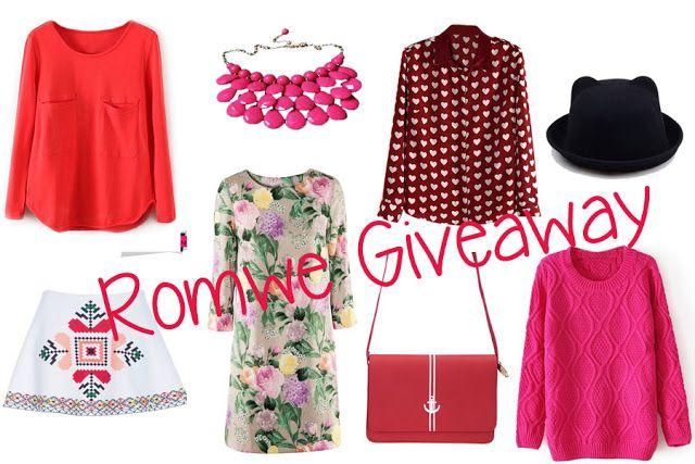 Giveaway: Win 2 x $30 ROMWE vouchers!