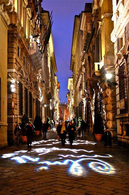 Via Garibaldi, Genova, Italy
