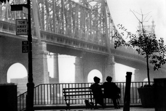 The late great Gordon Willis, cinematographer of all the Godfather movies and many Woody Allen movies. RIP