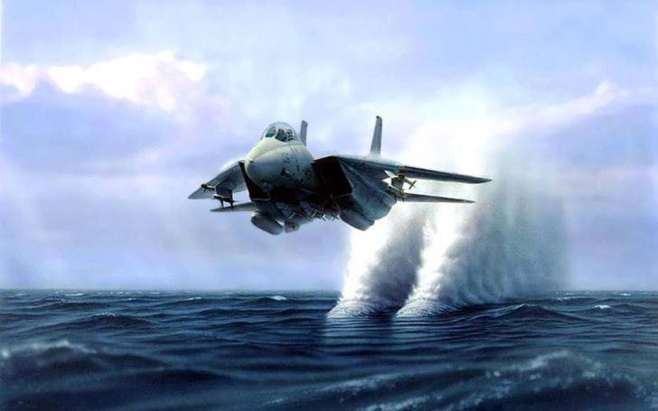 Aircraft : Aircraft Fighter Make A Wave