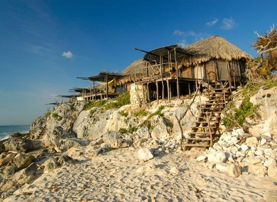 Beach huts at azulik in tulum still one of my favorite for Villas tulum
