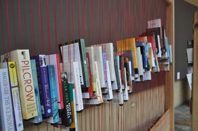 Maravillosa idea para organizar libros