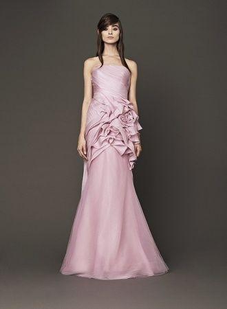 エレガント♡ピンクのスレンダー ウェディングドレス・花嫁衣装・カラードレスのまとめ一覧♡
