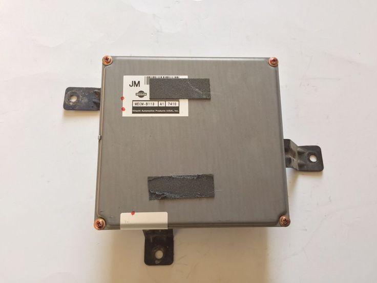 96 97 Nissan Pick Up Truck Engine Control MECM-B113 Module ECU ECM 2.4L M/T OEM #nissan