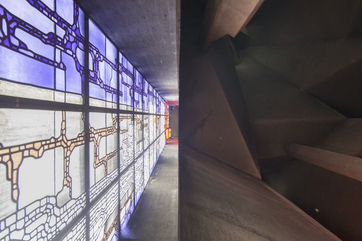"Gallery of Experience the ""Brutal Faith"" of Gottfried Böhm's Pilgrimage Church…"