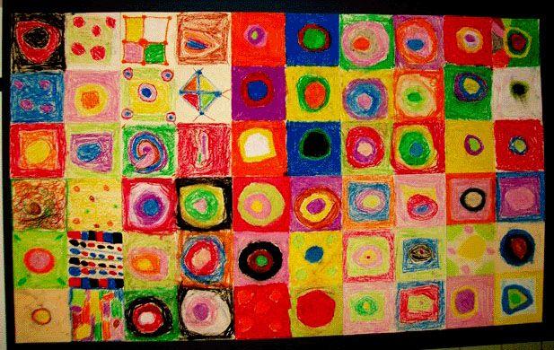 Kandinsky Color Studies Lesson Plan Art History For Kids