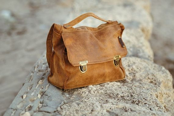 leather laptop bag 15.6 // carmelisleather