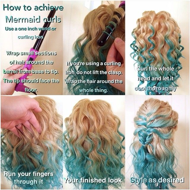 How to do Mermaid Curls