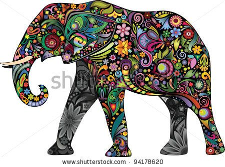 The cheerful elephant II by cupoftea, via ShutterStock