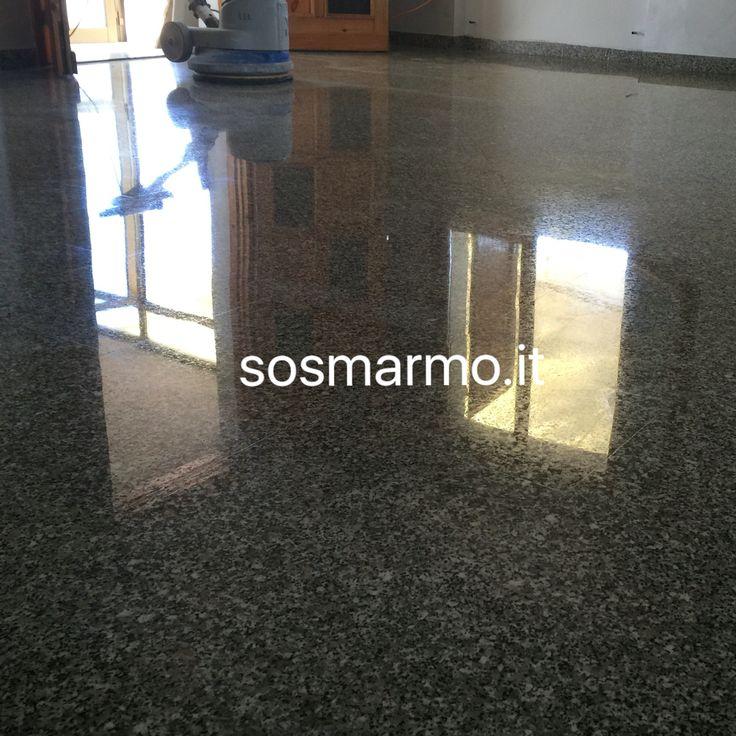 Lucidatura levigatura granito...  SOS MARMO 3478757300 info@sosmarmo.it www.sosmarmo.it