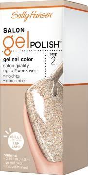 Salon Gel Polish Gel Nail Color   Sally Hansen Karat Cafe