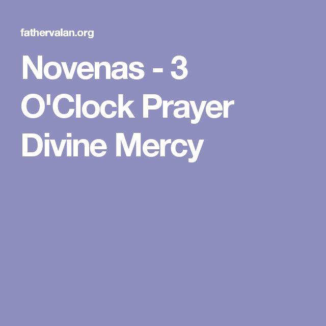 Novenas - 3 O'Clock Prayer Divine Mercy