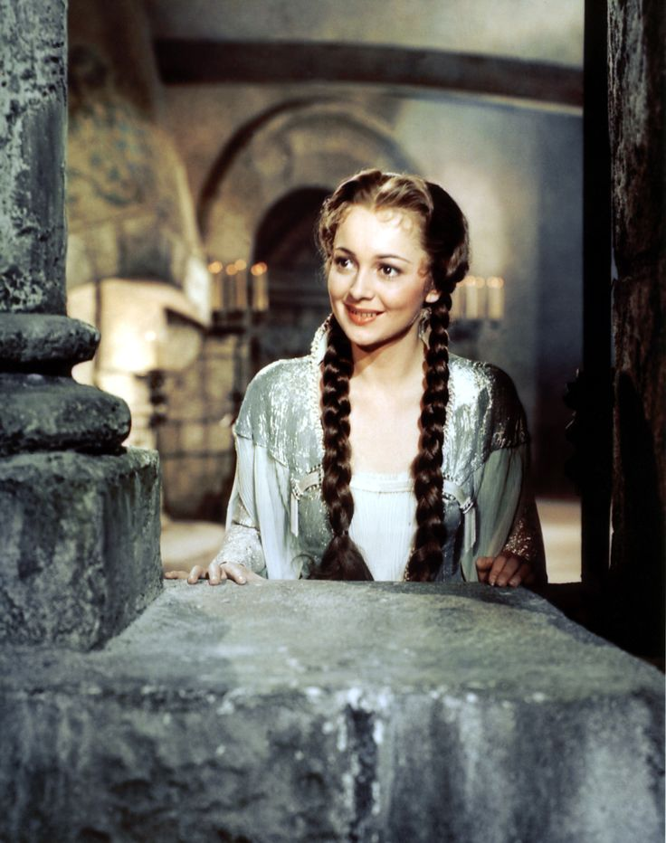 "Olivia de Havilland as Maid Marian in ""The Adventures Of Robin Hood""."