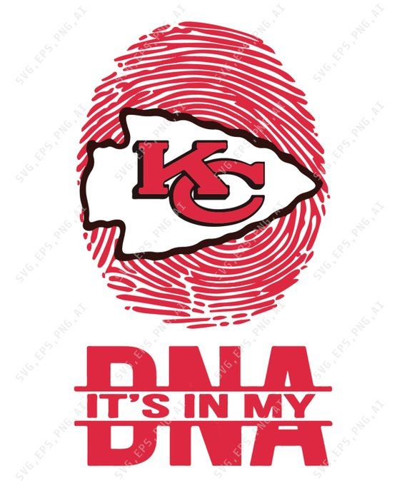 Kansas City Chiefs It 39 S In My Dna In Svg Pdf Eps Jpg And Png Nfl Svg Football Gifts Nfl Logo Nfl Logo Svg Ins Kansas City Chiefs Nfl Logo Kansas City
