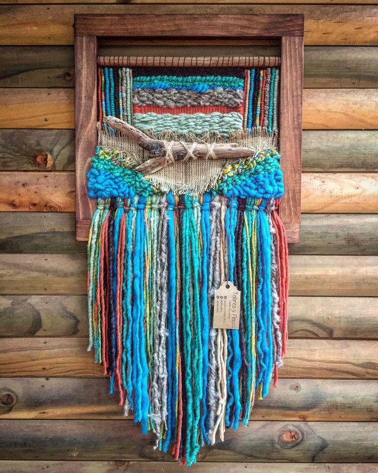 Un favorito personal de mi tienda de Etsy https://www.etsy.com/es/listing/529926373/woven-wall-hanging #woven #wallhanging