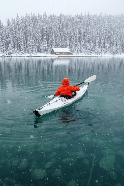 Lake Louise by: Stevin Tuchiwsky Looks really cold!