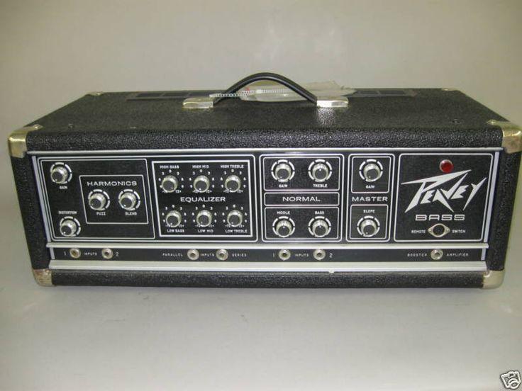 Vintage peavey bass amp — img 2