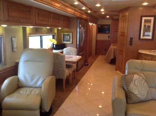 2013 Used Itasca MERIDIAN 43E Class A in Tennessee TN.Recreational Vehicle, rv, FINANCING up to 20 years available! TRADE-IN can be accepted. Move up to the Luxury Loaded Motorhome you have always wanted with the rare Deep Mahogany full body primary color. Original sticker price with options of $320,694 but also has over $8,200 of custom additions. The options include the Athena interior with the glazed Vienna Maple Cabinets, electric fireplace, Infotainment Center, Residential Refrigerator…