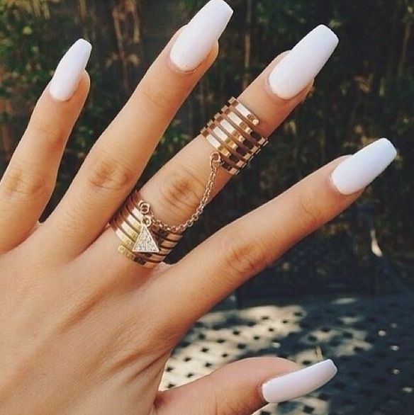 Don't judge me...but I kinda love these Kylie Jenner nails!
