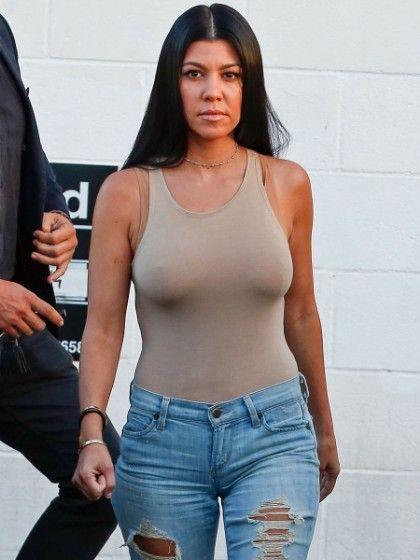 Kourtney Kardashian Lingerie 60
