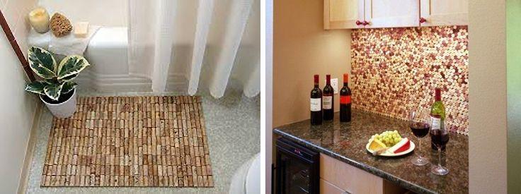 10 toffe ideeën om wijnkurken in je interieur te gebruiken