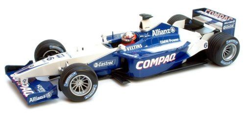 1-43 Scale 1:43 Minichamps Williams BMW FW23 Race Car 2001 - Juan Pablo Montoya Juan Pablo Montoyas BMW Williams FW23 from the 2001 season http://www.comparestoreprices.co.uk/formula-1-cars/1-43-scale-143-minichamps-williams-bmw-fw23-race-car-2001--juan-pablo-montoya.asp