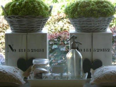prachtige zuilen, leuk met de manden - Be-House