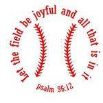 Baseball Decal - Psalm 96:12