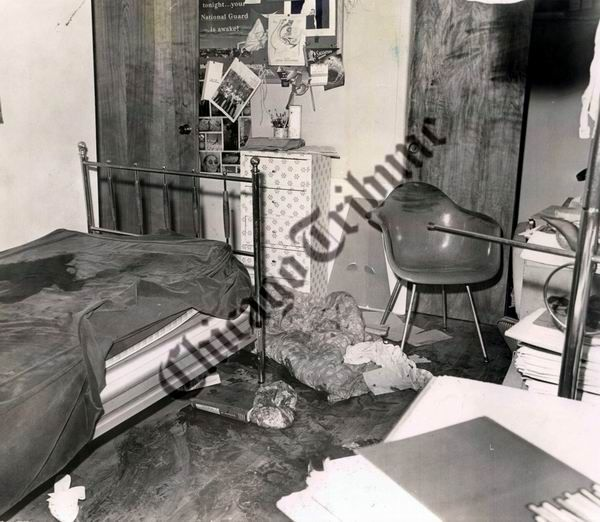 Richard Speck Crime Scene Photos | Bedroom of Horror