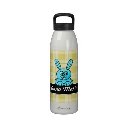 Bunny Rabbit Yellow Plaid Personalized Water Bottl Reusable Water Bottle you will get best price offer lowest prices or diccount couponeShopping          	Bunny Rabbit Yellow Plaid Personalized Water Bottl Reusable Water Bottle Review on the This website by click the button below...