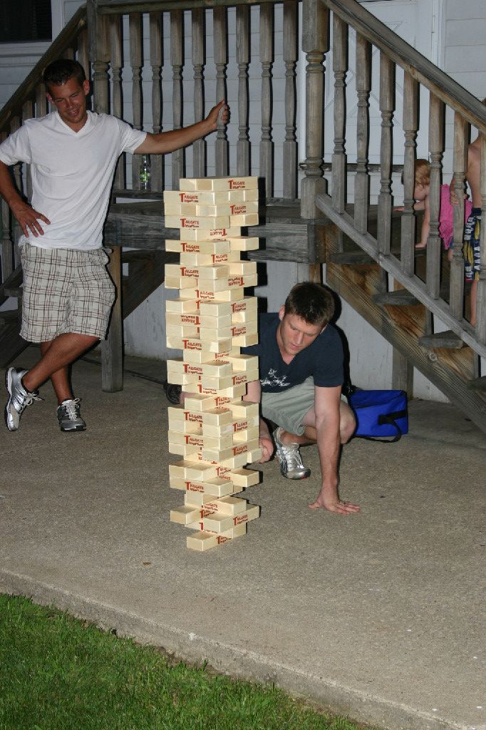 Home PageJenga Games, Free Ships, Picnics Ideas, Giants Jenga, Fun Stuff, Sets, Parties Ideas, Tailgating Timber, Happy Projects