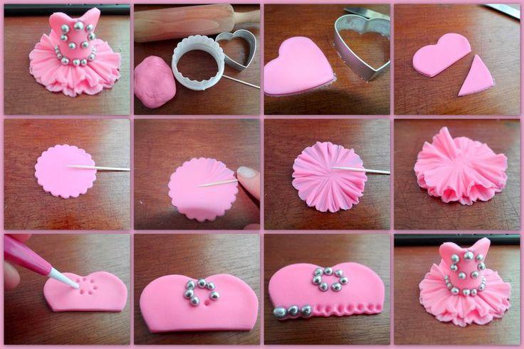 Ballerina's Cupcake topper→http://www.deleukstetaarten.nl/forum/viewtopic.php?id=224575