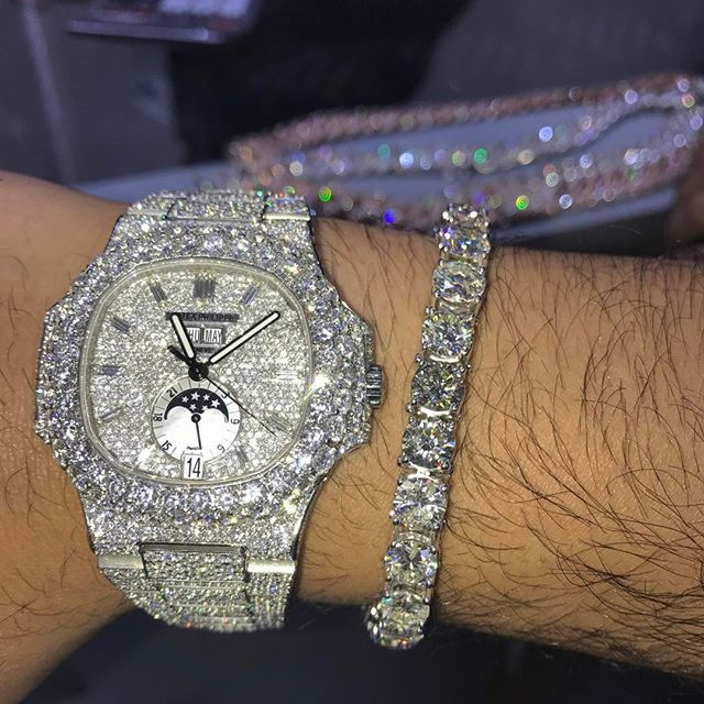TOPGRILLZ Luxury Brand ICED OUT Watch Quartz Gold HIP HOP