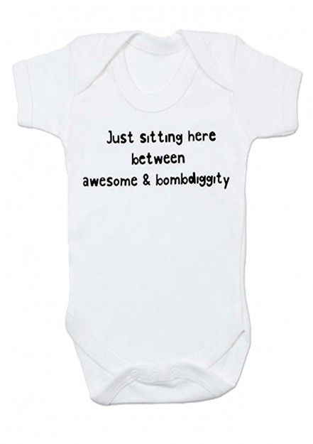 Funny Baby Clothes | Cool Baby Grows Vest