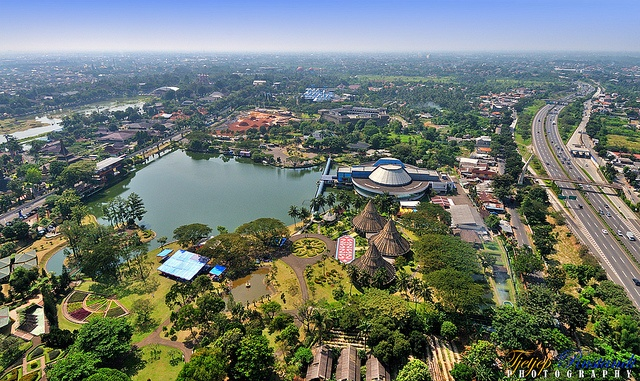 "Taman Mini Indonesia Indah (TMII) or ""Beautiful Indonesia Miniature Park"" (literally translated) is a culture-based recreational area located in East Jakarta, Indonesia"